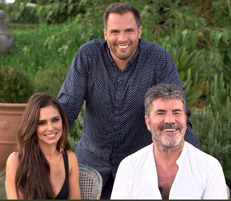 RT @LiamxCheryl: NEW | @CherylOfficial with @SimonCowell and @danwootton for their interview! It airs in a bit! 😍 https://t.co/M4AUoalR0b
