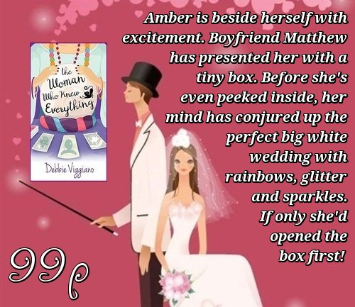 Ever been desperate enough to see a #psychic for #boyfriend #advice ? #FridayFeeling #bridetobe #engagement #romcom  https://www. amazon.co.uk/Woman-Who-Knew -Everything-ebook/dp/B073XTWZKP/ref=asap_bc?ie=UTF8 &nbsp; … <br>http://pic.twitter.com/EmB755gA0E