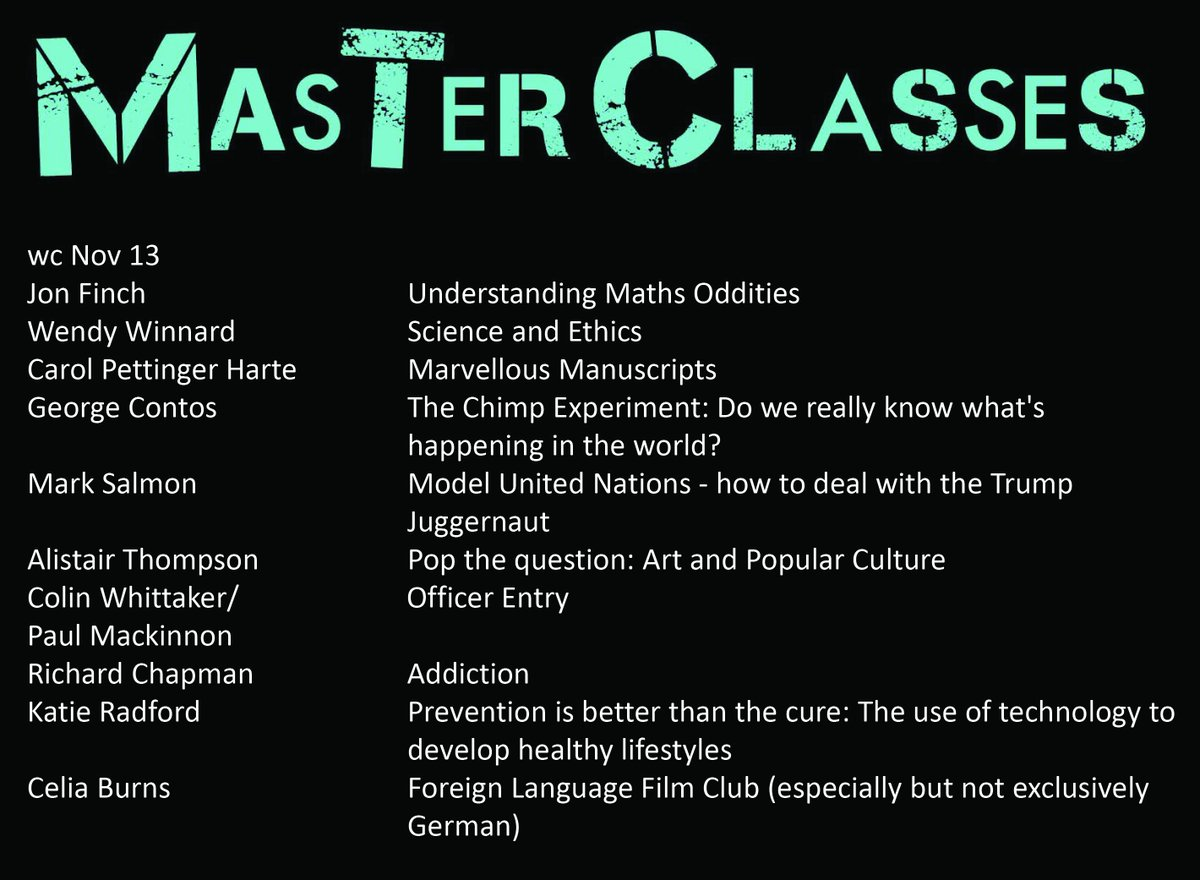 priestley college on twitter priestley is launching masterclasses