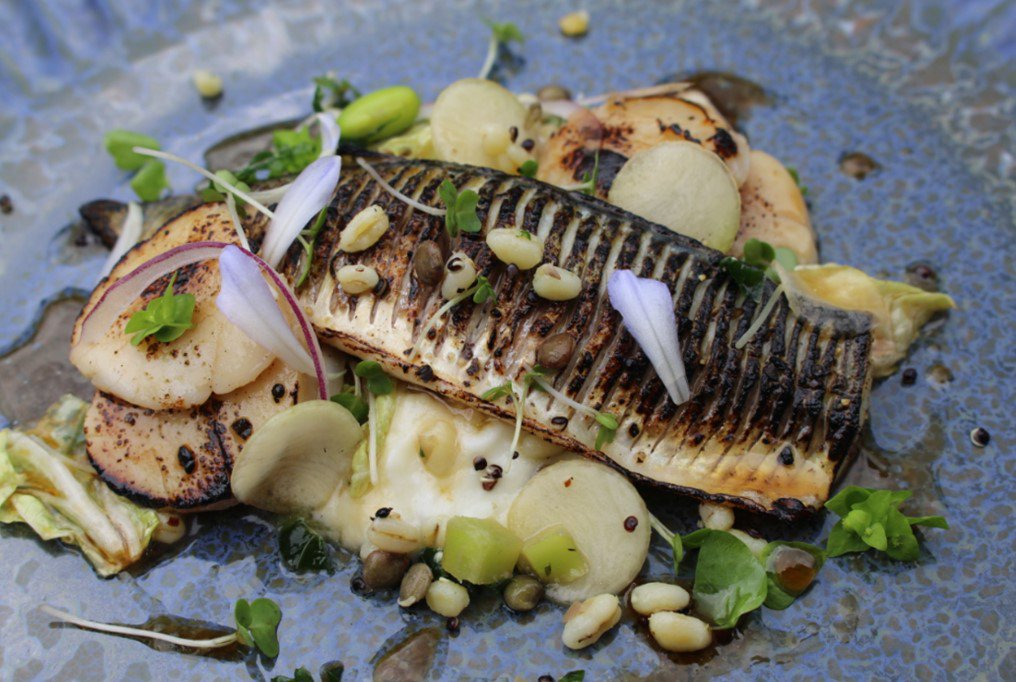 Make the best of your dish with @CelticCoastFish. Succulent Seared Mackerel served with King Scallop #FridayFeeling #fresh is #best<br>http://pic.twitter.com/cSYaZIDVOd
