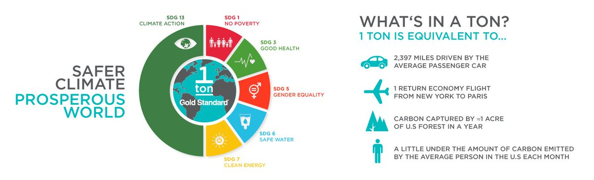 What is a ton of #CO2 (or an equivalent greenhouse gas)? #carbonneutral #carbonoffset #savetheplanet #environment <br>http://pic.twitter.com/LgwYo96VWW