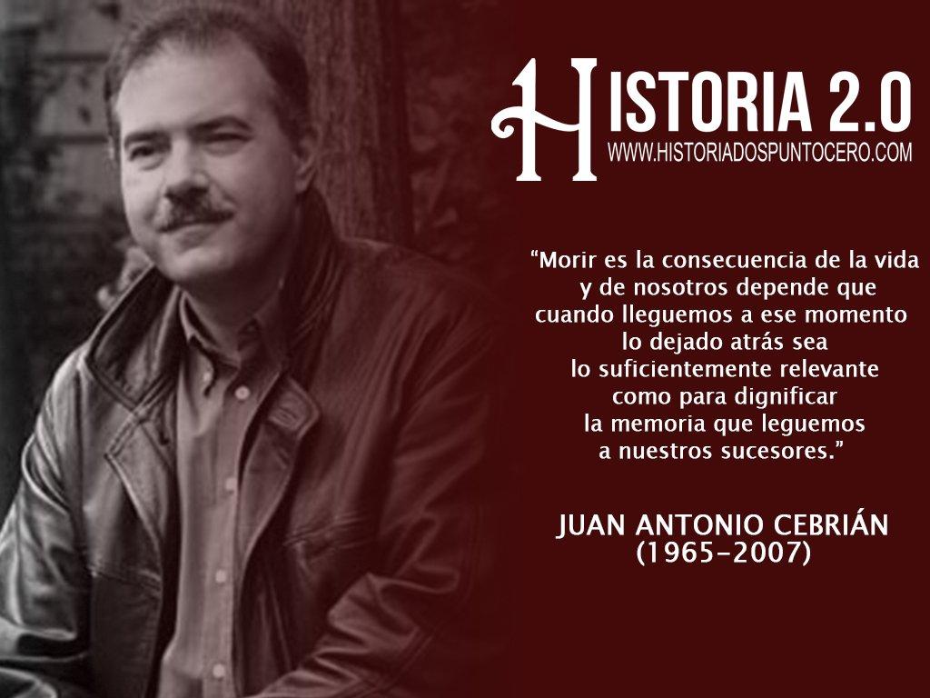 Hoy Se Cumplen 10 Años De La Muerte De Juan Antonio Cebrián Forocoches