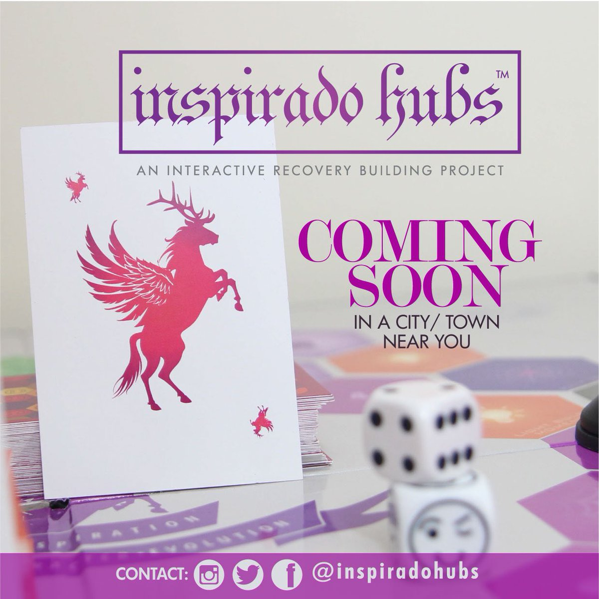 Coming to #Manchester this November #InspiradoHub! Watch out for dates and times. Limited seats available. #recovery #boardgames<br>http://pic.twitter.com/ZmTnBSZ2fY