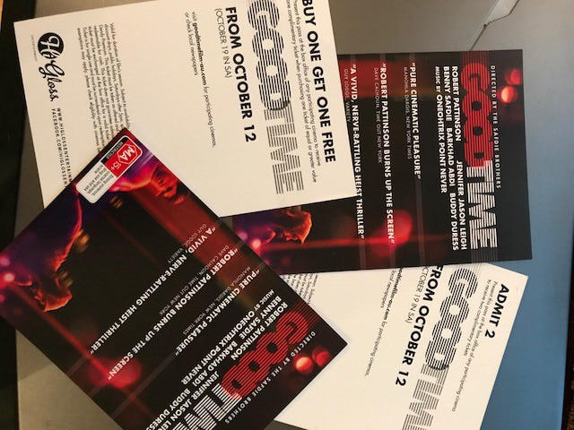 VICTORIA: WIN a Double Pass to see #GoodTime - 1st Victorian to respond to this tweet wins. Runner up will get buy 1 Get 1 Free pass. <br>http://pic.twitter.com/p6IAqOS0PN