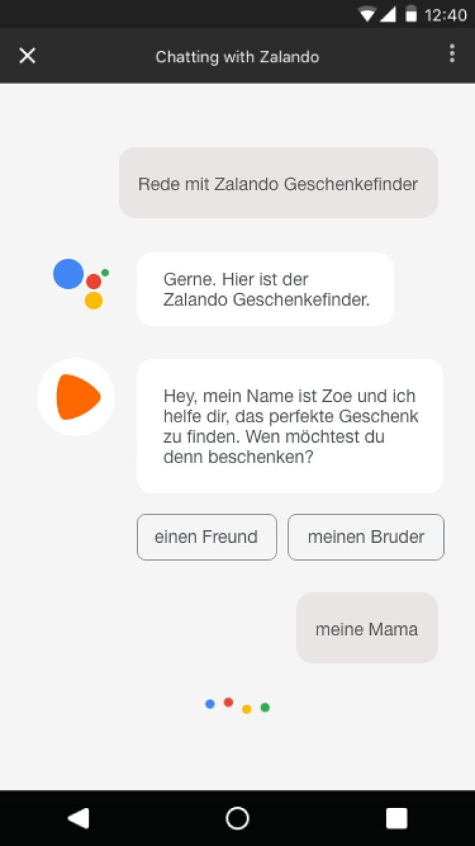 Zalando News On Twitter The Collaboration With Google Allows