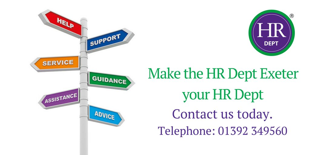 Thinking of changing your #HR supplier,coming up to renewal - Or value a local service in #Exeter? Get in touch  http:// ow.ly/Ee1o30fZzla  &nbsp;  <br>http://pic.twitter.com/dhunRvJHTy
