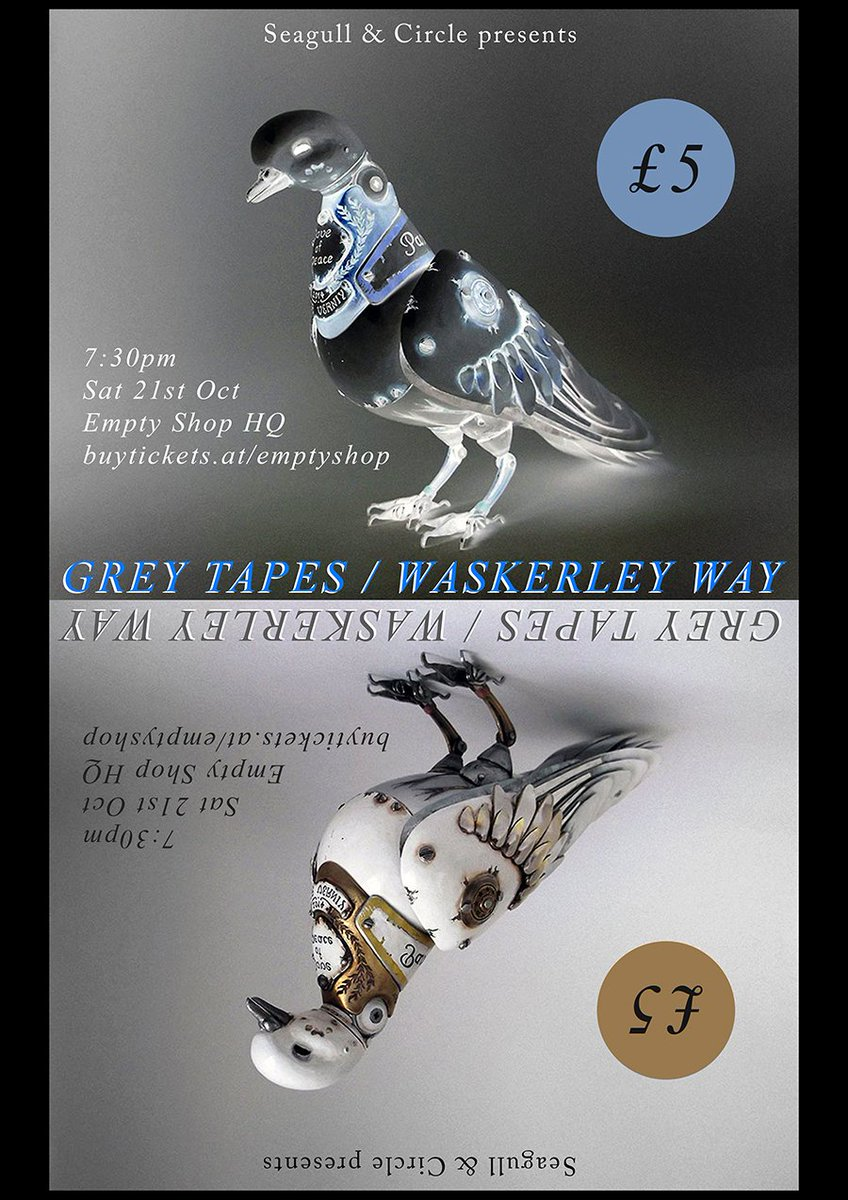 Stunning production &amp; incredible live: @GreyTapesUK tomorrow at HQ - vid recorded at @BlankStudios  https:// youtu.be/tK0s2uN1O8E  &nbsp;   #durham #gigs <br>http://pic.twitter.com/FyjAeYRQCv