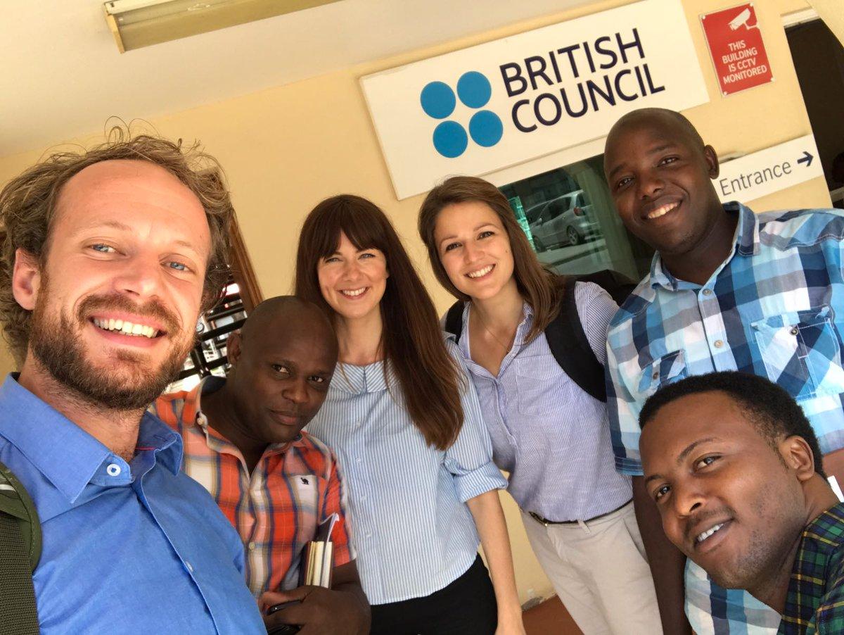 A pleasure to collaborate w/@SautiyaVijana @RaleighTanzania @VSOTanzania &amp; @ICS_UK #alumni to design #youth engagement #innovation. Asante!<br>http://pic.twitter.com/83U1C3Jq09