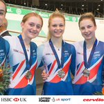 Cycling: SILVER in the Team Pursuit at Euro Champs - that's a...