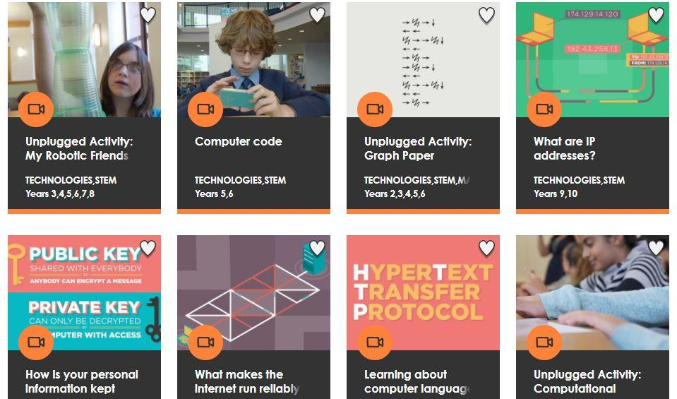 Looking for awesome videos that explain #code and IT to #primary and #secondary students? Look no further.  http:// ab.co/2gxveRB  &nbsp;   #aussieED<br>http://pic.twitter.com/WaBJZP5SnQ