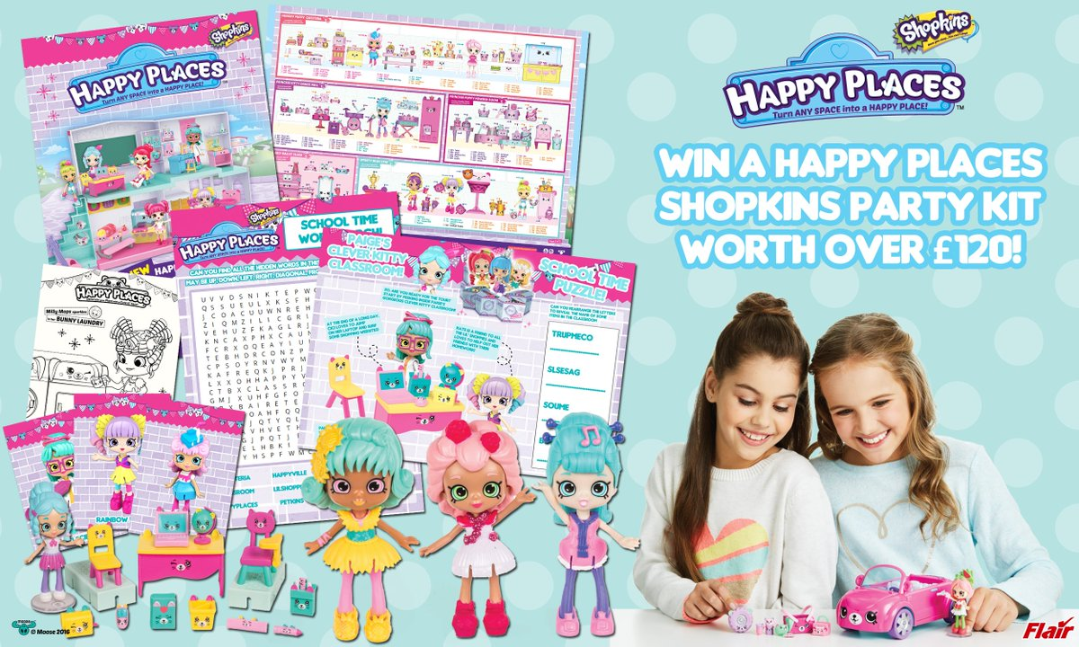 It's #FreebieFriday time and this week we have an EXTRA special prize with #Shopkins Happy Kits! To enter, #like #RT &amp; #follow. Good luck! <br>http://pic.twitter.com/RcE7qg6LgB
