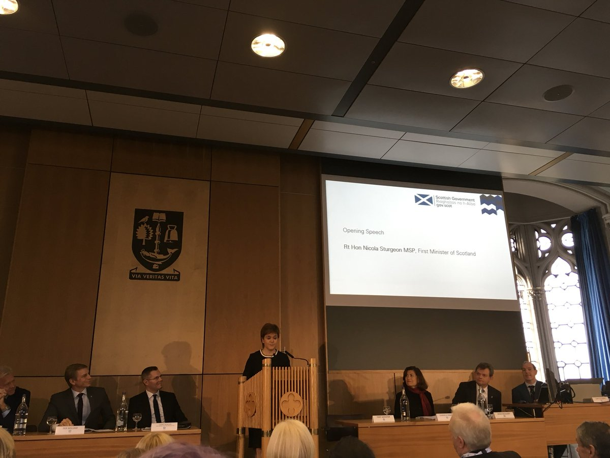 @NicolaSturgeon tells the #InclusiveGrowth conference 'Our economy is going to be more successful if we have a society that has the ability and opportunity to engage fully in that economy' <br>http://pic.twitter.com/hgvXdAOsDc