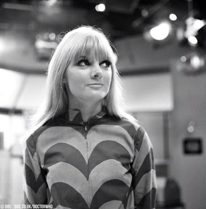 Happy birthday to Anneke Wills, who played Polly from The War Machines to The Faceless Ones.