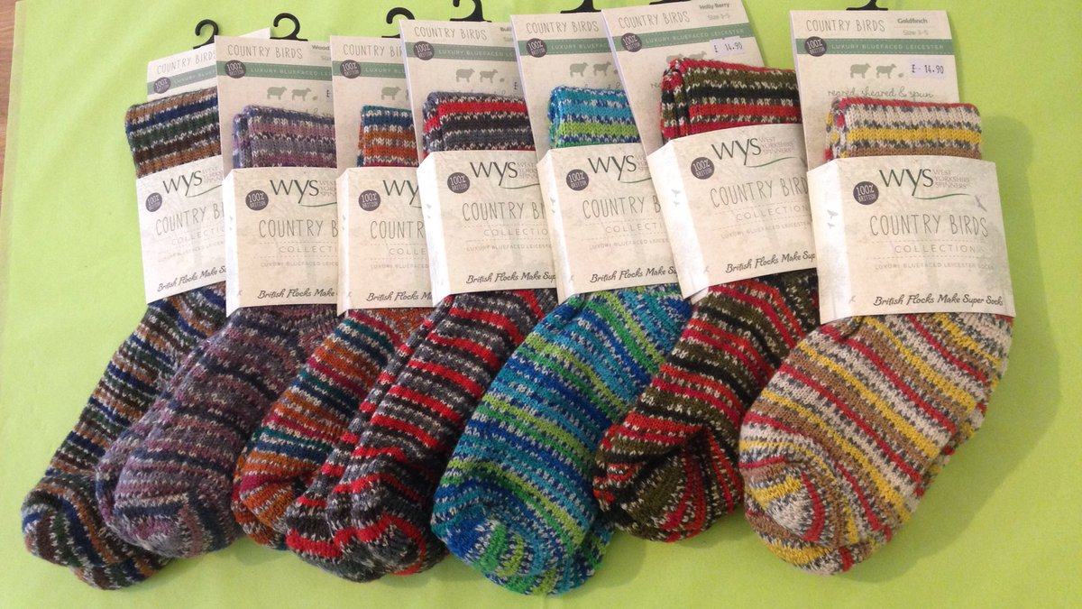 ewe and yarn on twitter we have wys country birds socks in but
