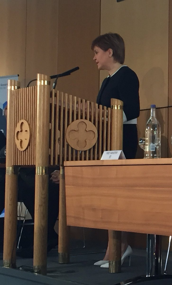 Good to hear @NicolaSturgeon emphasise real Living Wage as part of #inclusivegrowth #CPW17<br>http://pic.twitter.com/RBKO7Bu8Un