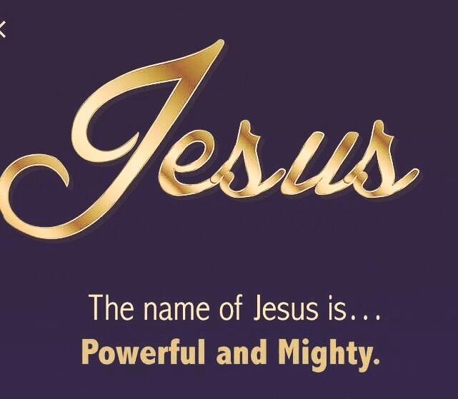 Therefore God exalted him to the highest place and gave him the name that is above every name...Philippians 2:8 #Jesus#NameAbiveAllNames<br>http://pic.twitter.com/4ZICZYxJsG