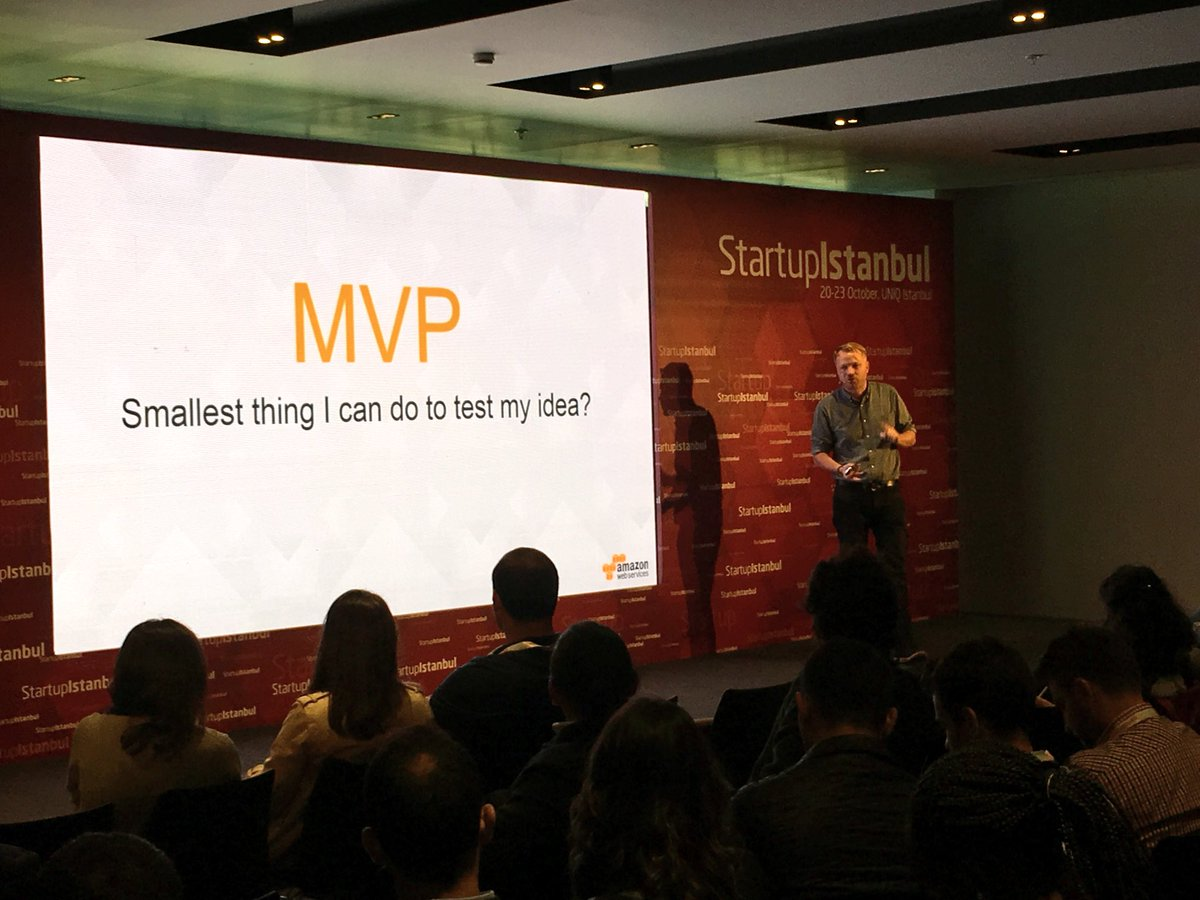 """Lean startups learn and adapt."" Claus Werner on scaling & keeping your startup DNA #StartupIstanbul"