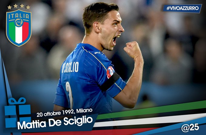 | All the best to Mattia who turns 25 today!