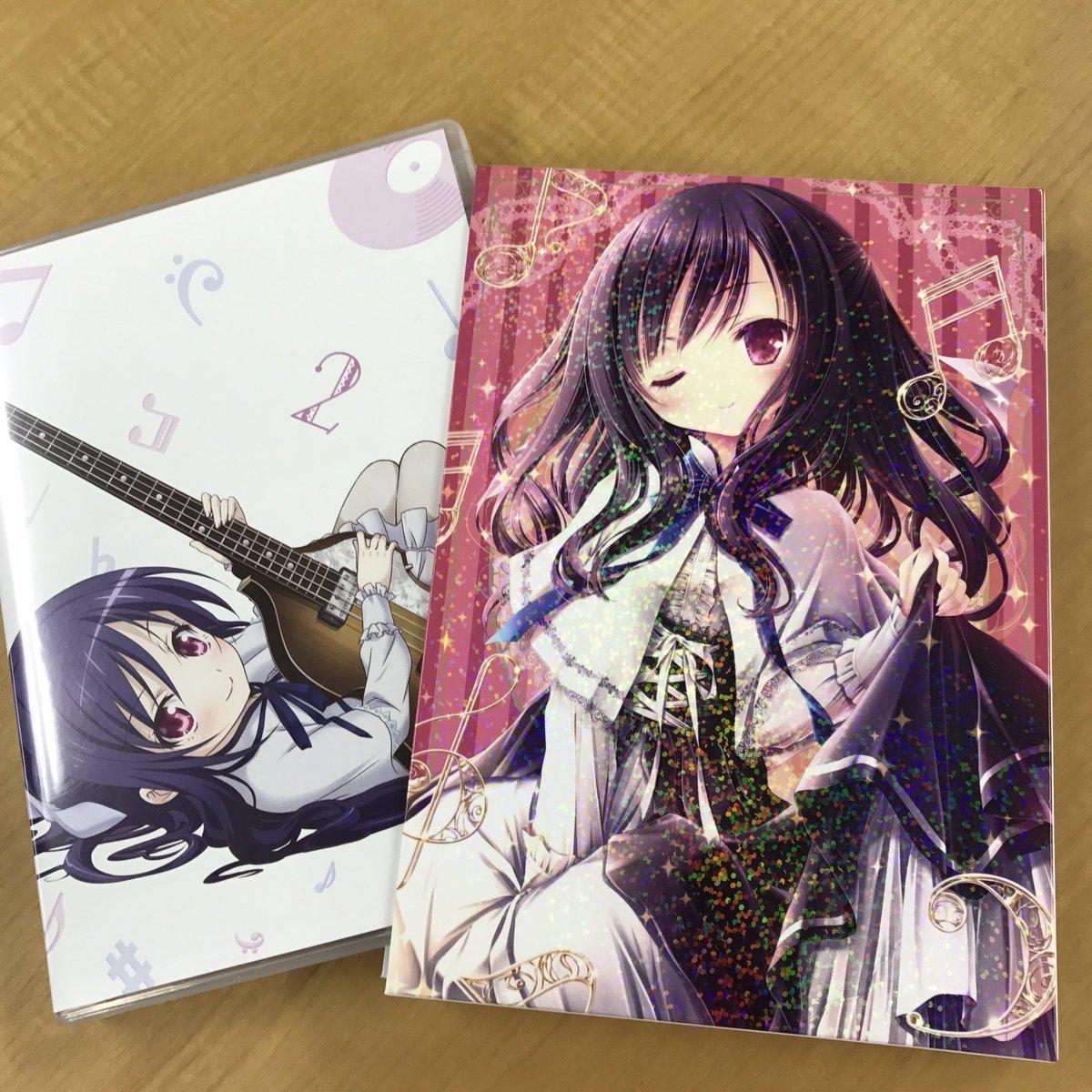 【BD&DVD】そして第2巻のサンプルが届きました♪2巻の三方背ケースもキラキラした加工になってます♪11月2日発売ですのでお楽しみに!   #tenshino3p