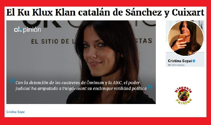 El Ku Klux Klan catalán de Sánchez y Cui...