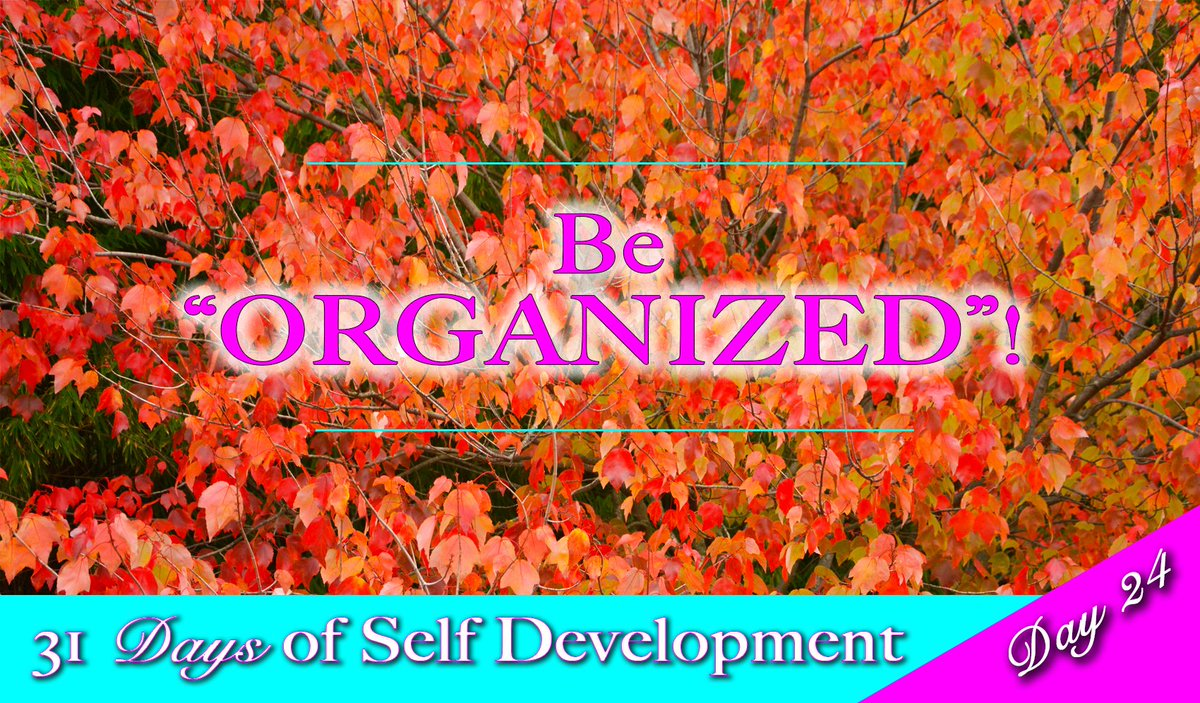 #Organize your life and #success will follow! Learn how with the #SelfDevelopment series:  http:// buff.ly/1PqQTCl  &nbsp;  <br>http://pic.twitter.com/MEMUx03psk