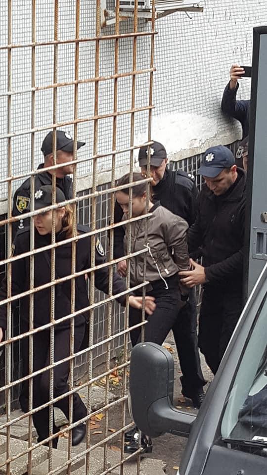 Виновницу смертельной аварии в Харькове Зайцеву привезли в суд - Цензор.НЕТ 1611