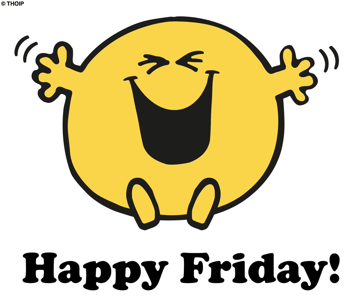 Mr. Happy would like to wish you a very happy Friday! #FriYay https://...