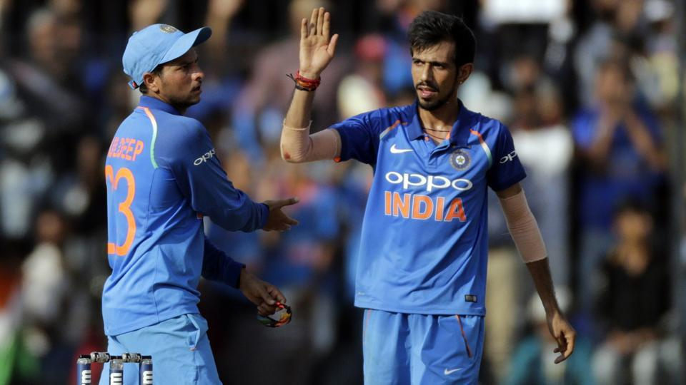 NZ out to tame India's newest spin duo of #KuldeepYadav-#YuzvendraChah...