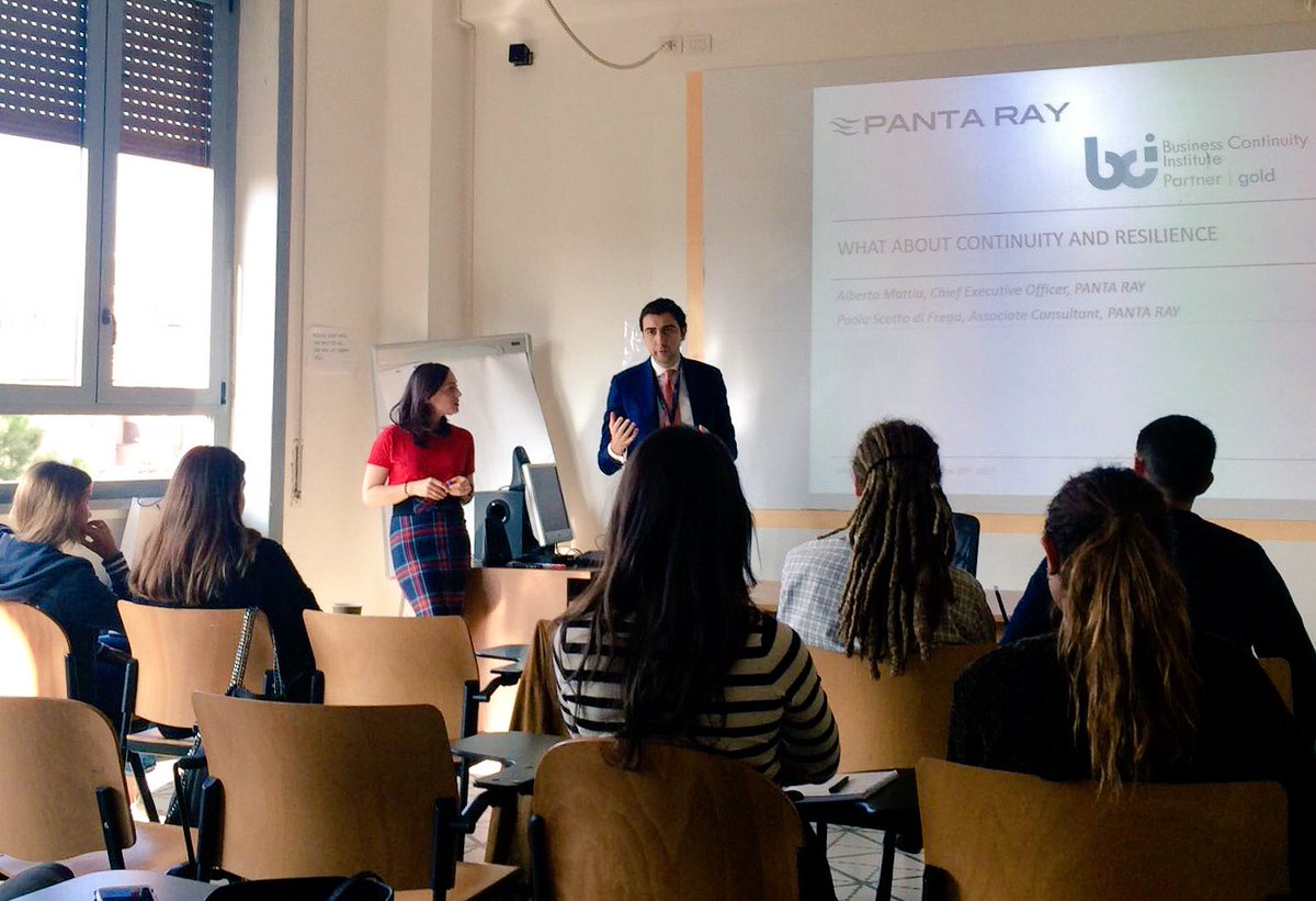 #Company Testimonial @finallypantaray: Continuity &amp; #Resilience at Prof. Salvatore&#39;s course #professional skills for #career development.<br>http://pic.twitter.com/HrCNvSP8Lj