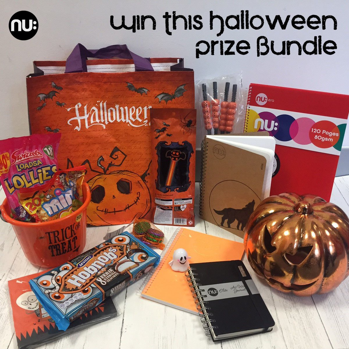 #WIN our amazing Bundle full of Nu: Notebooks &amp; spooky festive products from @LoveWilko   Simply RT &amp; FOLLOW our page! Ts&amp;Cs Apply #FriYay <br>http://pic.twitter.com/U0358n45WH