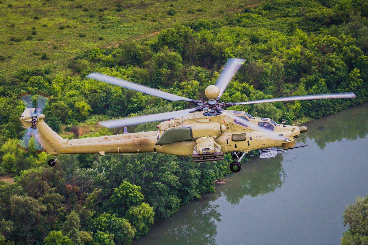 Ministério da Defesa da Rússia revela fotos do novo helicóptero de ataque russo Mi-28UB https://t.co/VWeBxSd7vv