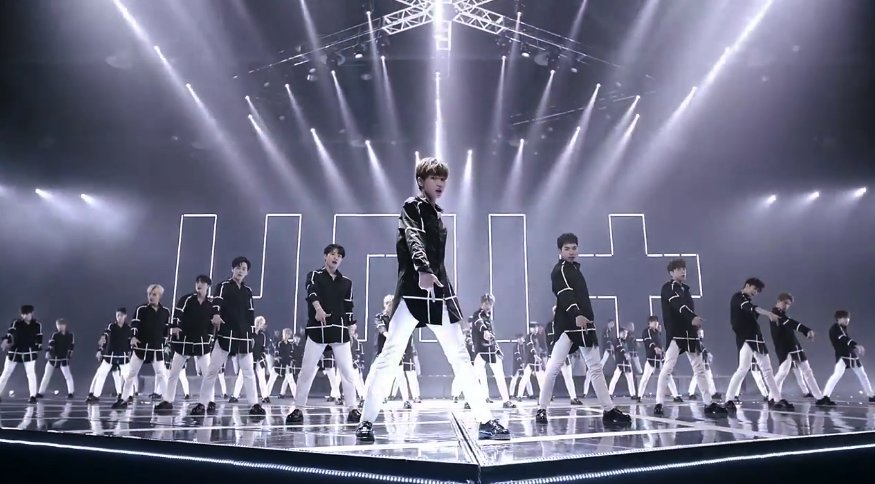 """WATCH: Male Contestants Of &quot;#The Unit&quot; Show What They've Got In MV For """"Last One""""  https://www. soompi.com/2017/10/20/wat ch-male-contestants-unit-shine-mv-light/ &nbsp; … <br>http://pic.twitter.com/9tlNbyv2CF"""