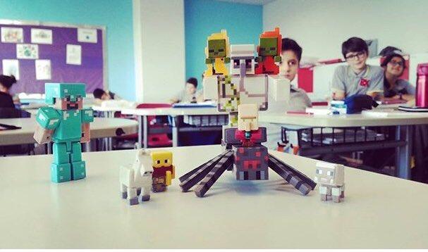 Minecraft Dünyası'ndan Merhaba! #minecraft #steve #codingBK #robotikko...