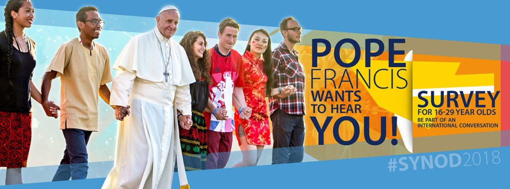 #Youth 16-29 years of age, express yourself! Survey for Youth #Synod2018 work-document. Open until 30 November 2017  https:// survey-synod2018.glauco.it/limesurvey/ind ex.php/147718 &nbsp; … <br>http://pic.twitter.com/xltZVL4J3E