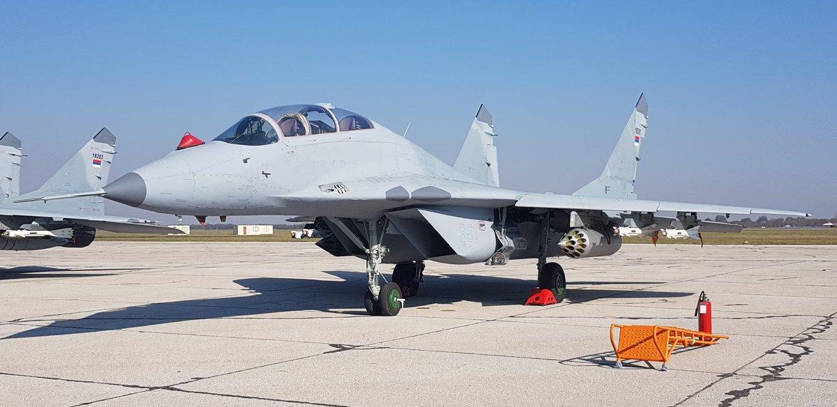 صربيا تعزز قدراتها الجوية بمقاتلات ميغ-29 الروسية - صفحة 2 DMkqZcfXUAIFpTH