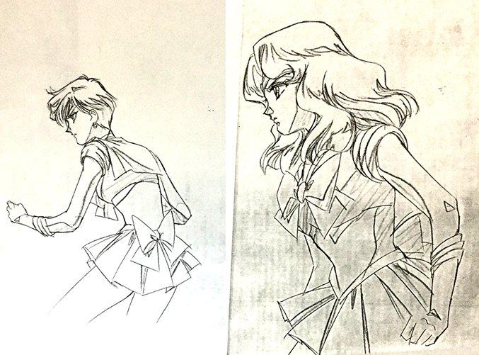 この伊藤郁子さんのウラネプも。 ささっと引いた鉛筆線なのに、めちゃくちゃ綺麗でビビる。 この迷いなく引く感じが重要なんだろうか…