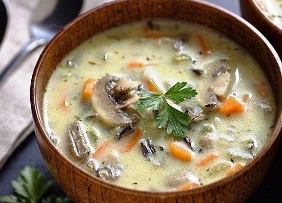 Рецепт сливочный суп