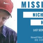 Please keep an eye out for Nicholas in the Morwell, Moe and Churchill areas. Please retweet. Details →  https://t.co/sy0QQDYAxA