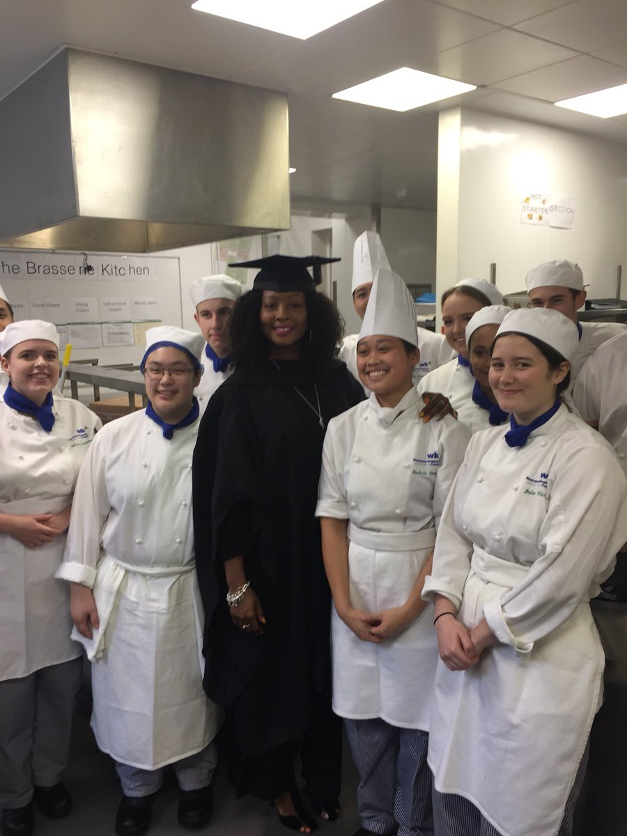 Our very own @Westking #Jenks graduating today #HE congrats from the entire Faculty @GaryHunterChef @Paul_Jervis @wildfoodboy @SueYeates<br>http://pic.twitter.com/1UPVxXdrif
