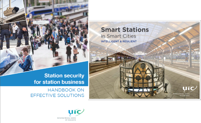 [#UICrail #publications] two handbooks launched on railway #stations for #nextstation2017 #Security #SmartCities<br>http://pic.twitter.com/YtMiXs08U6