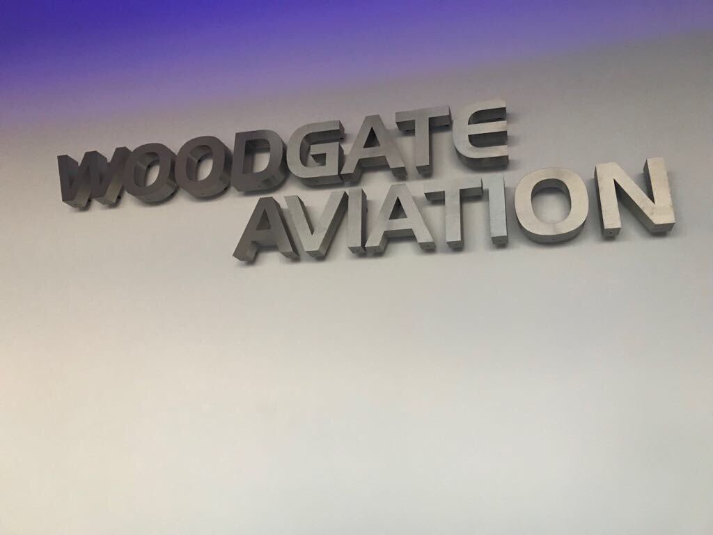 Shortly to be the latest addition to our #FBO reception. An impressive back lit floating logo courtesy of @VisedgeLtd #bizav #BelfastHour <br>http://pic.twitter.com/7TiwXZwDWX