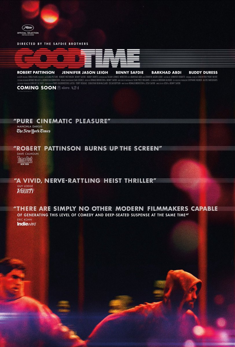 #GoodTime and #RobertPattinson got #GothamAwards nominations for best movie and best actor. Im so proud  can't wait to see the movie! <br>http://pic.twitter.com/Vo3yraIXWE