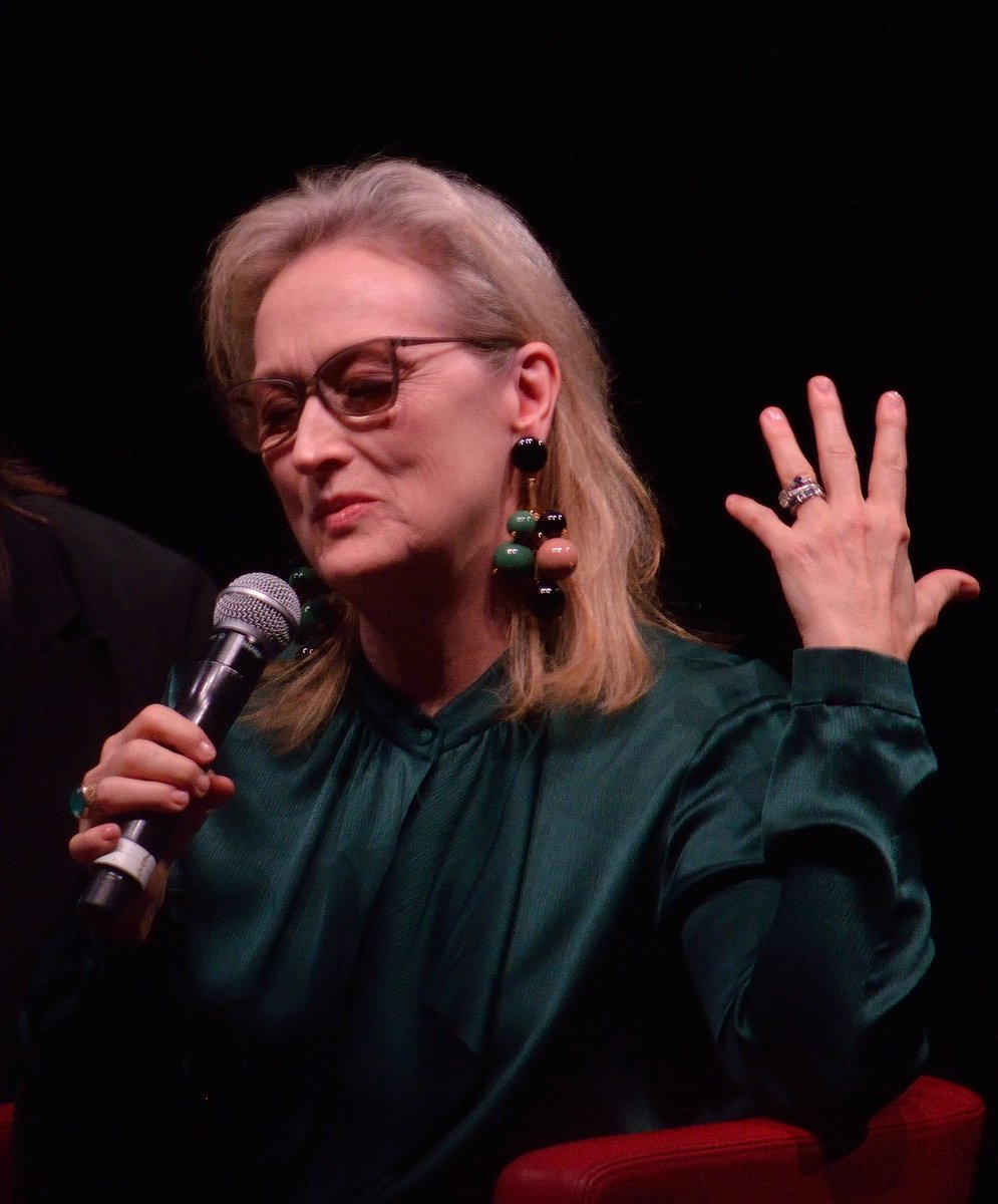 One year ago today my dream came true   20.10.2016  #MerylStreep <br>http://pic.twitter.com/rIW5lt7Vni