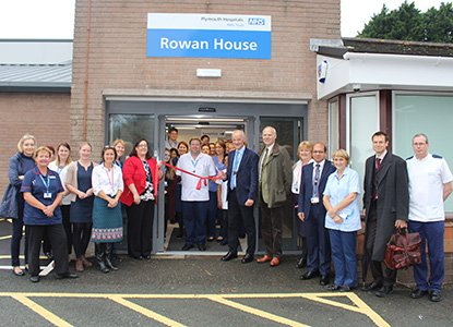 Staff &amp; patients gathered to officially open Rowan House this week, the new home of #Dermatology &amp; #PainManagement  http:// bit.ly/RowanHouseEvent  &nbsp;  <br>http://pic.twitter.com/VCU0LeAFqk