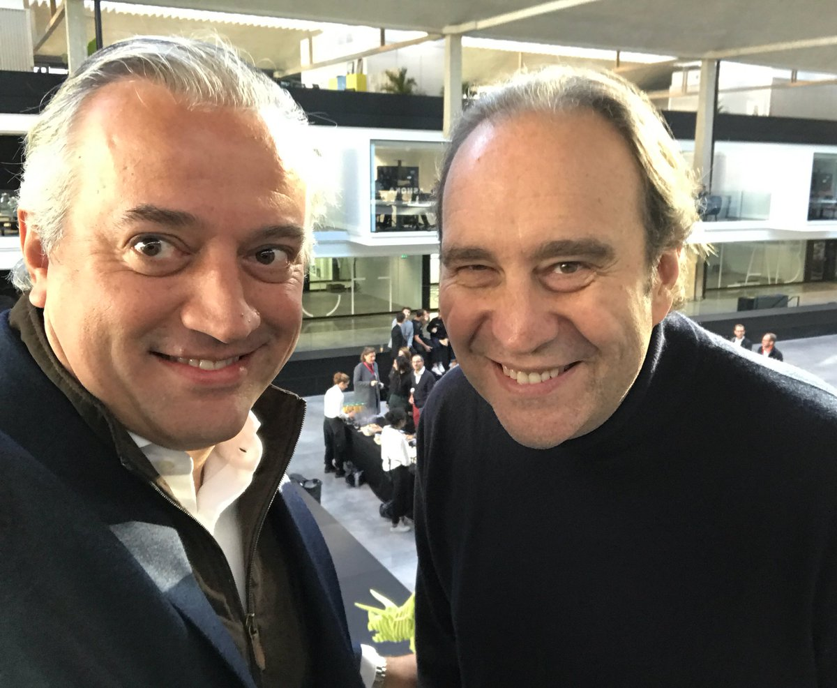 Big day at @joinstationf : Meet-up @HavasGroup with our first startups &amp; new partnership @loreal between @xavier75 &amp; #jeanpaulagon. #joinus <br>http://pic.twitter.com/fS2YTyPGJo
