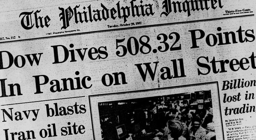Black Monday, Thirty Years On #thinkingaloud  http:// abdn.am/2xb0Hft  &nbsp;  <br>http://pic.twitter.com/CxJKe6mjBM
