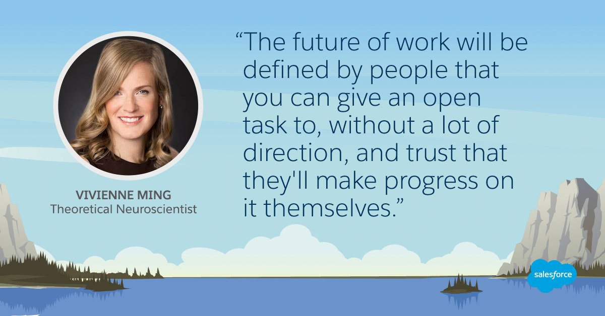 Why the Future of Work Will be Defined by #Creative, #Strategic Thinkers ~  http:// sforce.co/2iohUPX  &nbsp;   <br>http://pic.twitter.com/acYwMDPP8B via @salesforce