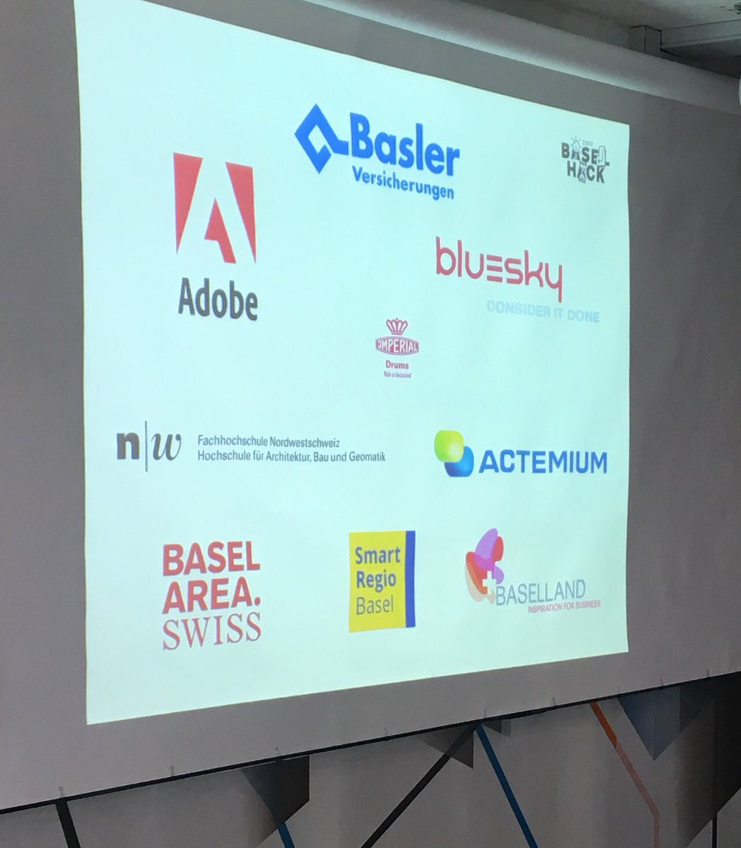 At the @BaselHack pre-event. Next week the #hackathon starts with 100+ participants.  http://www. baselhack.ch  &nbsp;   #innovation #coding #basel <br>http://pic.twitter.com/X8EOGs298e