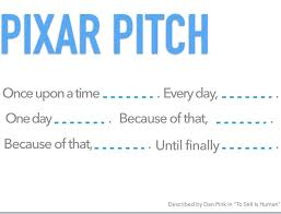 Use the Pixar Pitch to tell a powerful tale. #storytelling #speakingtips  http:// bit.ly/2ycSNU7  &nbsp;  <br>http://pic.twitter.com/HY2WFnMqZ5