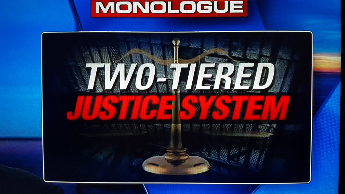Two Tiered Justice system   #WeThePeople demand our Govt be held to the same sets of laws that we are   #EqualJusticeUnderLaw   #LockHerUp<br>http://pic.twitter.com/oA5drp3N17